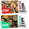 Win £500 of takeaway vouchers